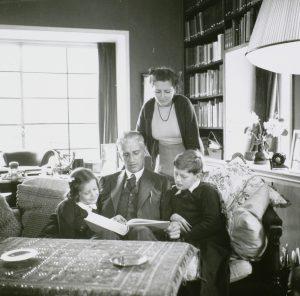 Familie in oorlogstijd