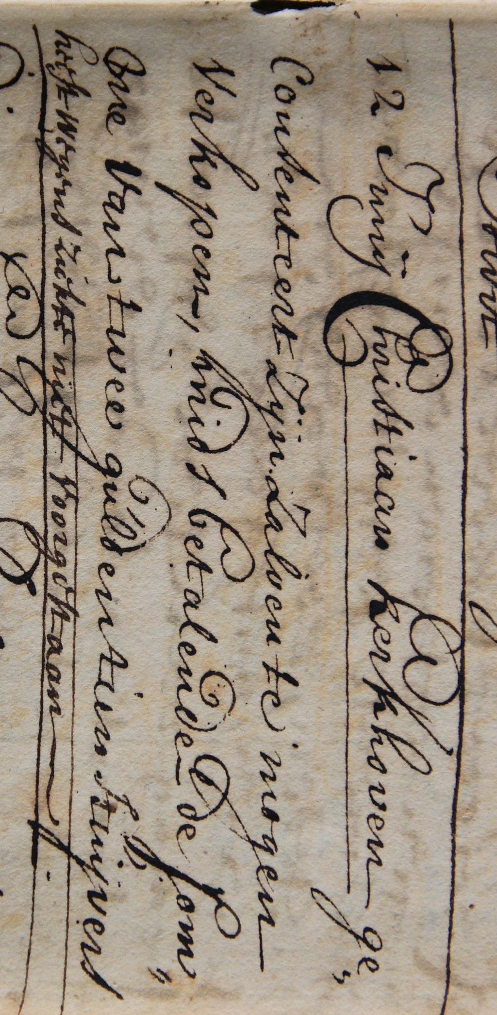 Register van vergunningen voor activiteiten op de kermissen te Delft en Delfshaven, 1722-1808 (Archief 1, inv.nr 4255)