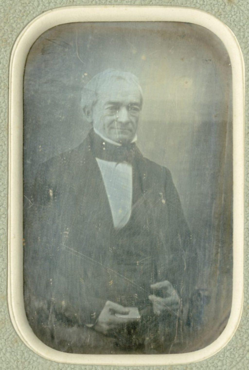 Een daguerreotype van Hendrik van Berckel, ca. 1860 (TMS 74676)