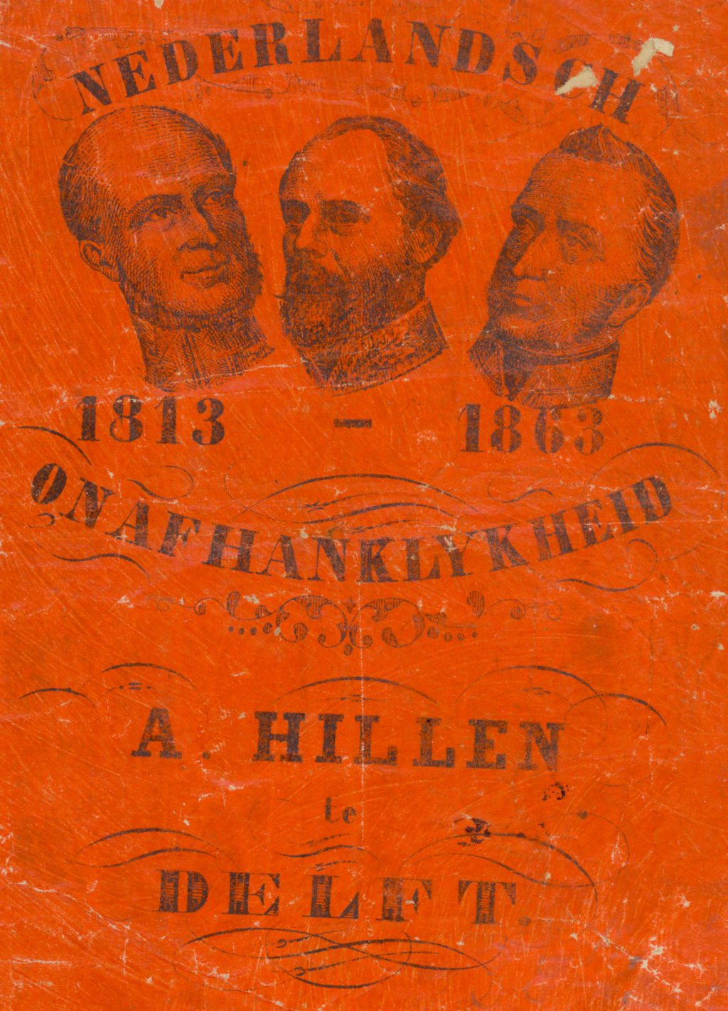 Tabakzakje ter gelegenheid van 50 jaar onafhankelijkheid, 1863 (TMS 61885)