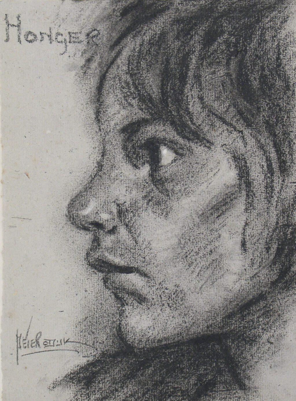 Peter Odijk, 'Honger', 1944-1945 (TMS 123142)