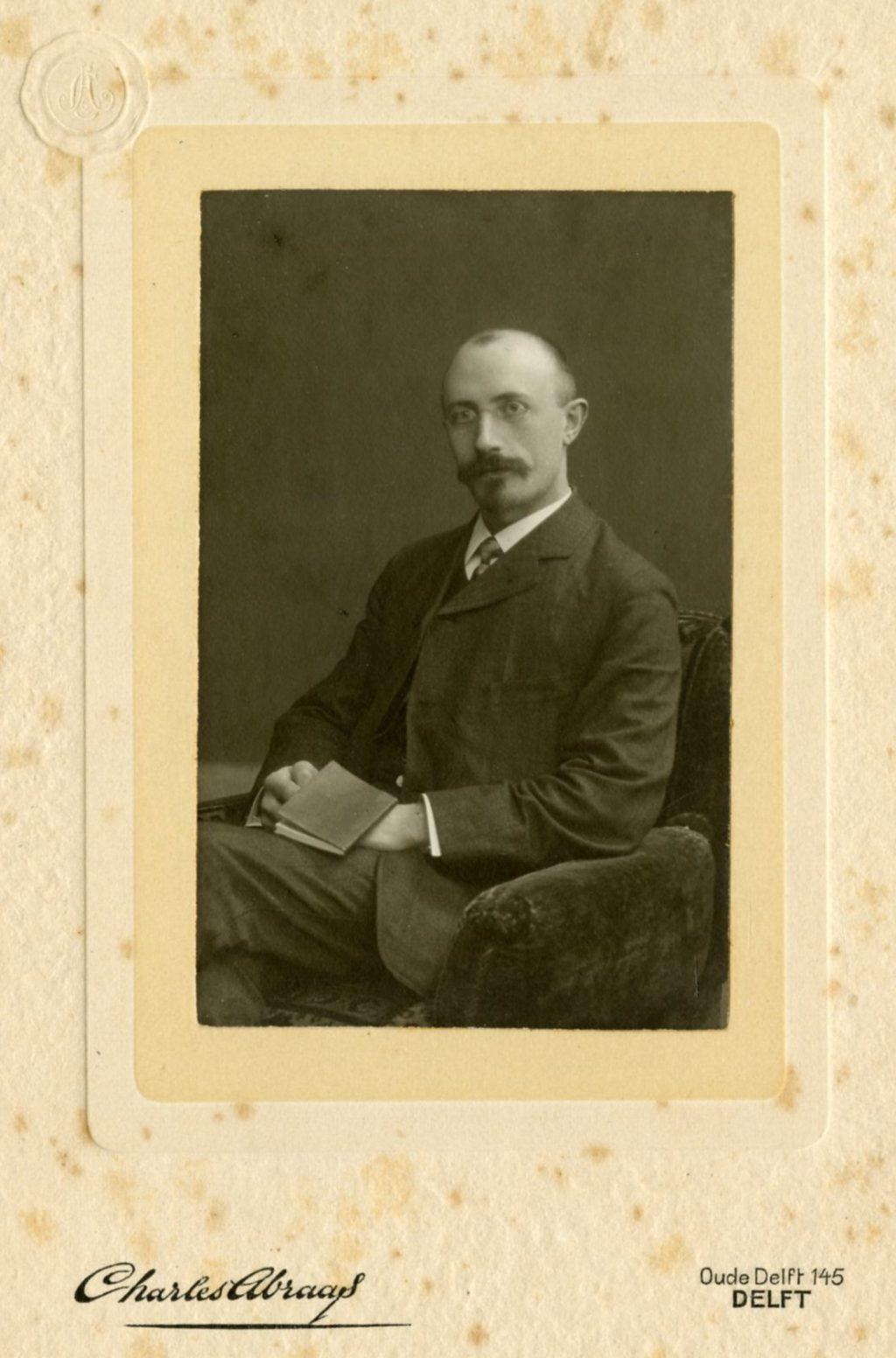 Johannes de Koning, 1915, foto Charles Abraas (TMS 114282)