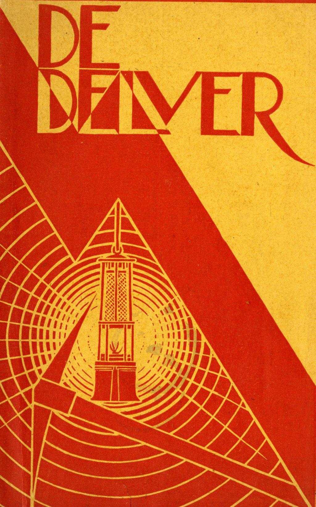 Rijk van Lavieren, Cover tijdschrift De Delver, ca. 1925 (TMS 133222)