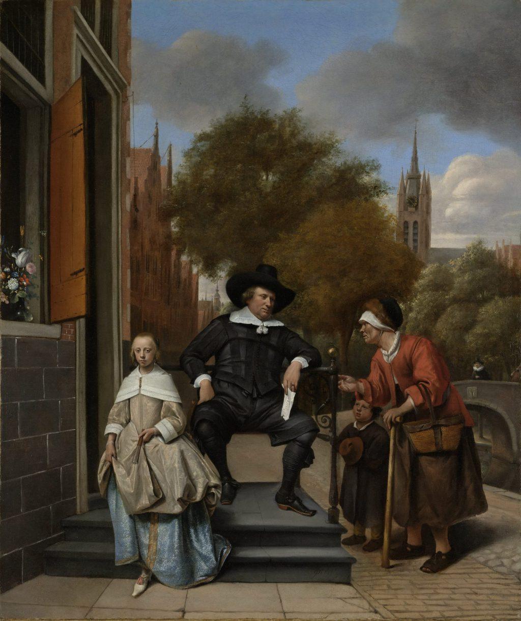 Jan Steen, De burgemeester van Delft (Rijksmuseum Amsterdam)