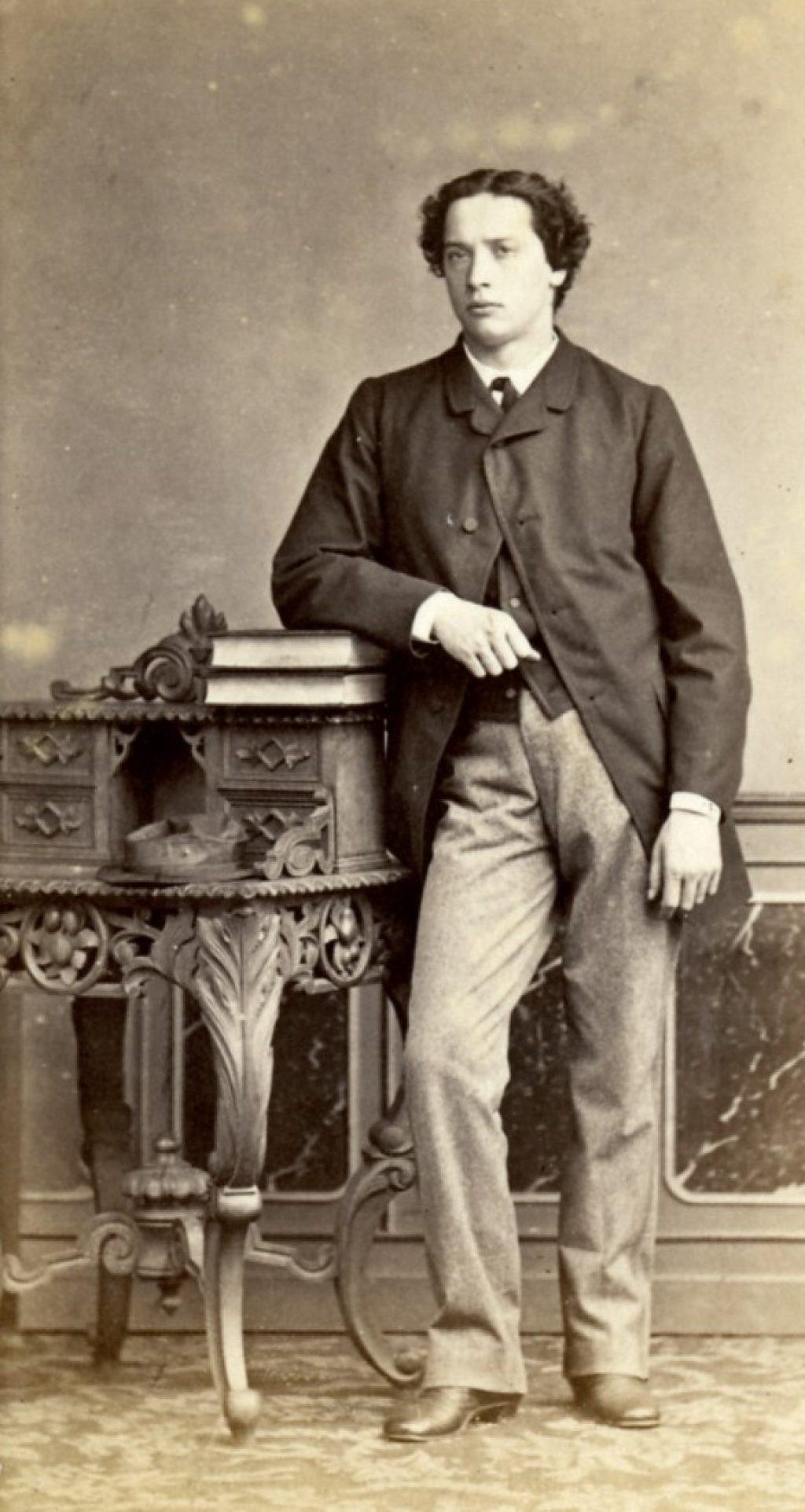 Prosper Henri Julius van Lawick, student aan de Indische Instelling, 1865, foto Emma Kirchner (TMS 1938)