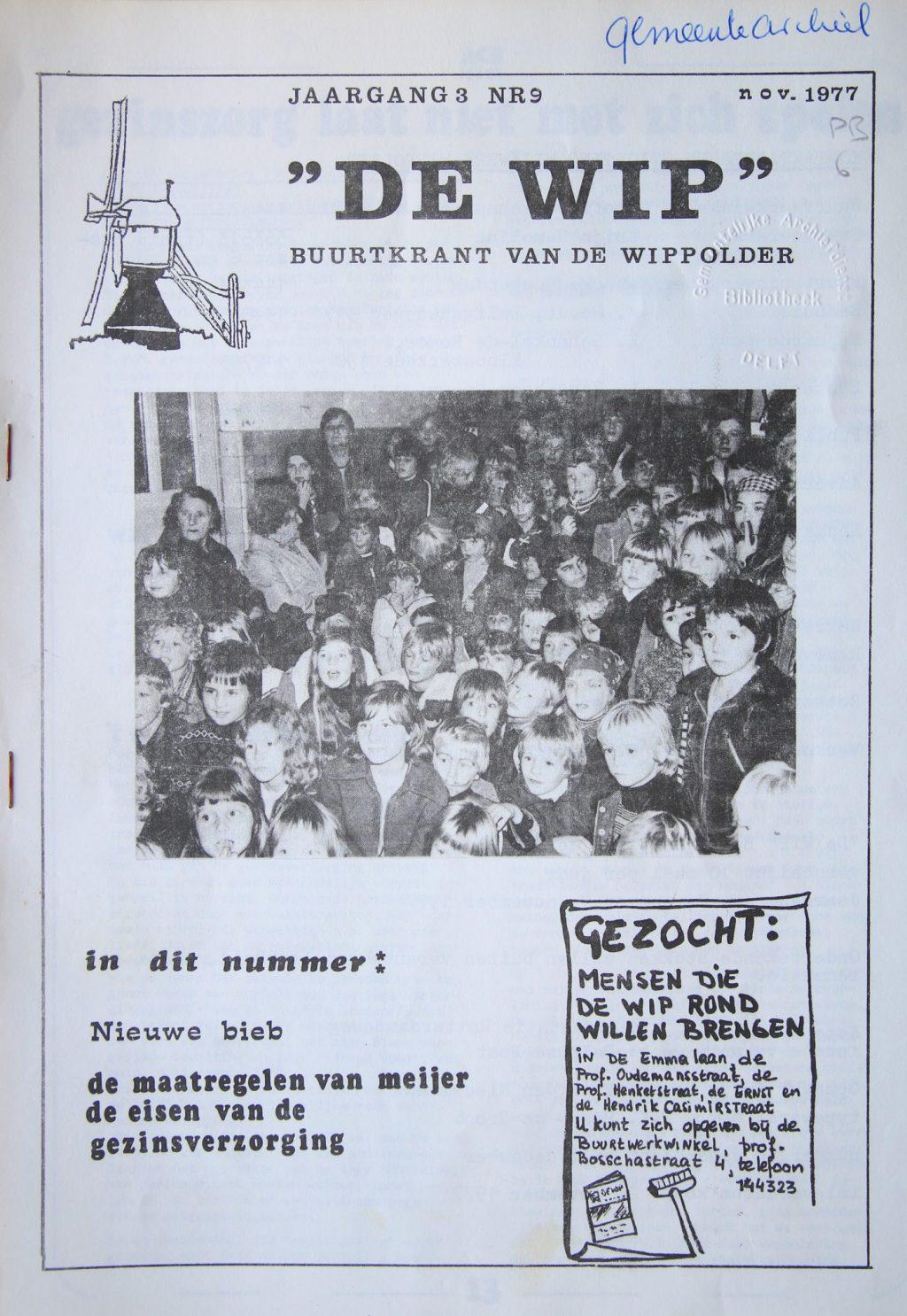 De Wip, november 1977