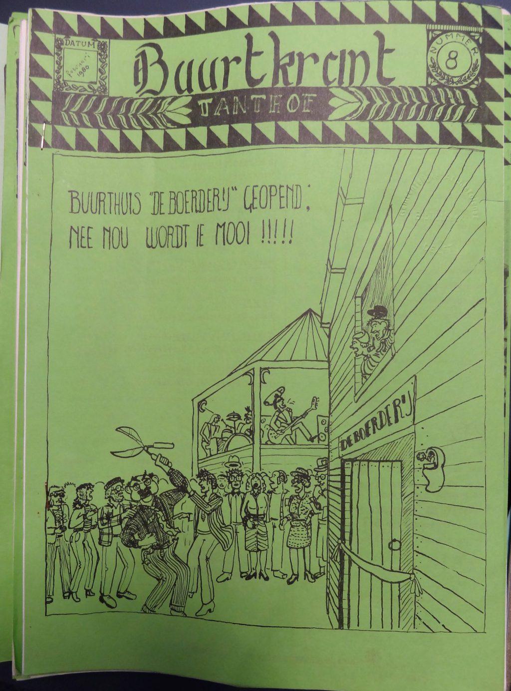 Tanthof Buurtkrant, februari 1980 (bibliotheek)