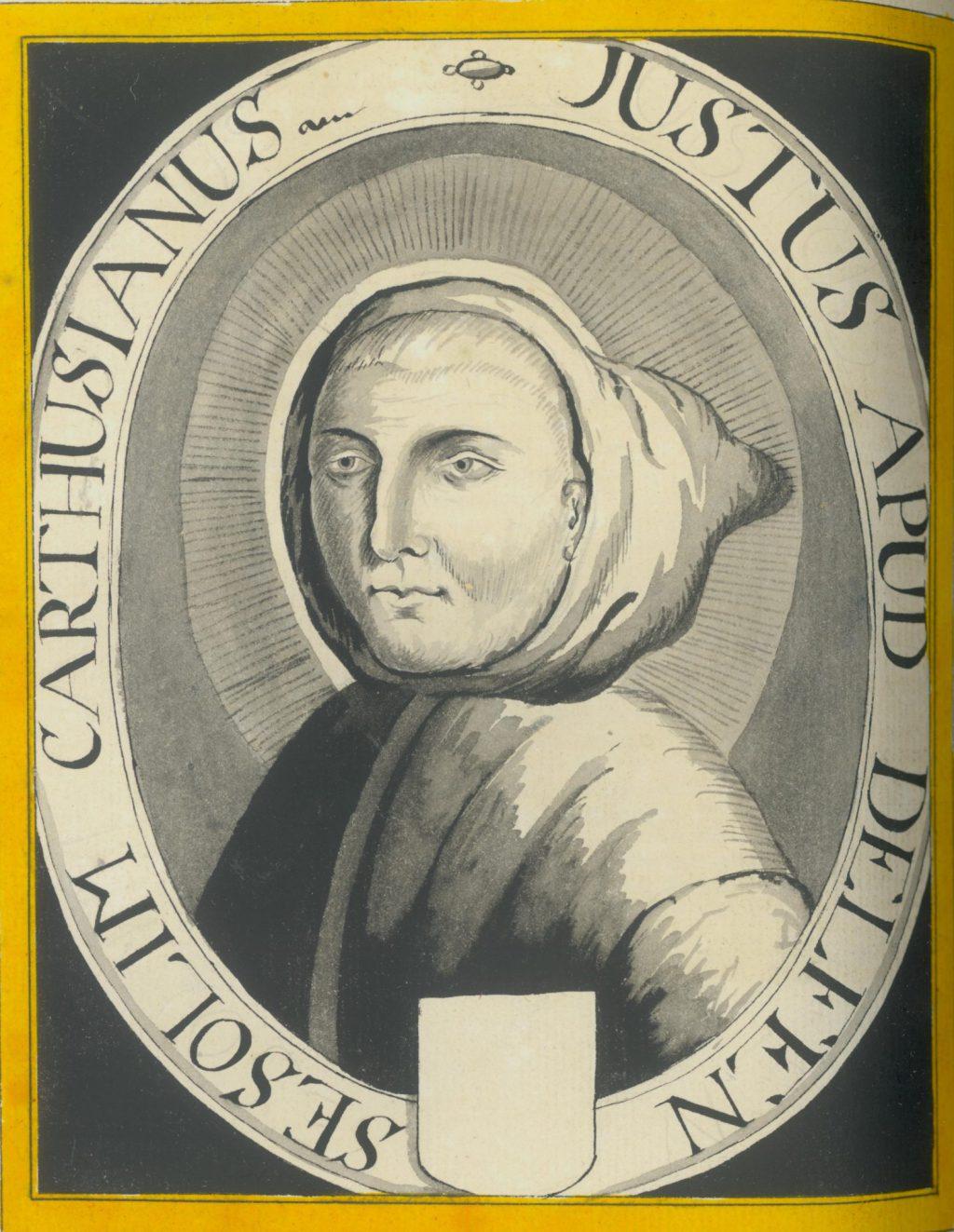 Portret van Justus van Schoonhoven (TMS 71558)