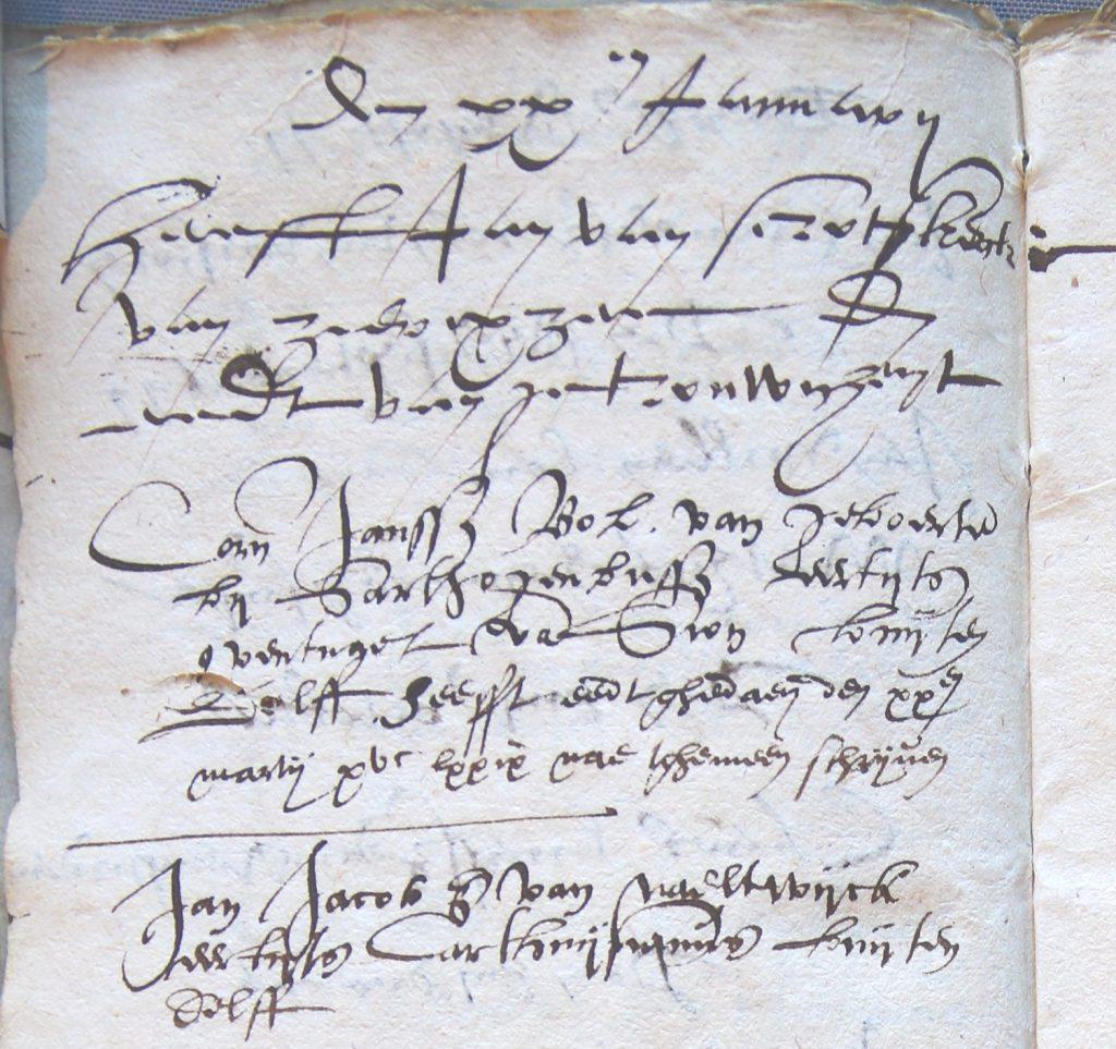 Register van teruggekeerde vluchtelingen, 1576-1580 (Archief 1, inv.nr 693)