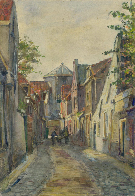 Piet Kramer, Bagijnestraat, 1907 (TMS 67899)