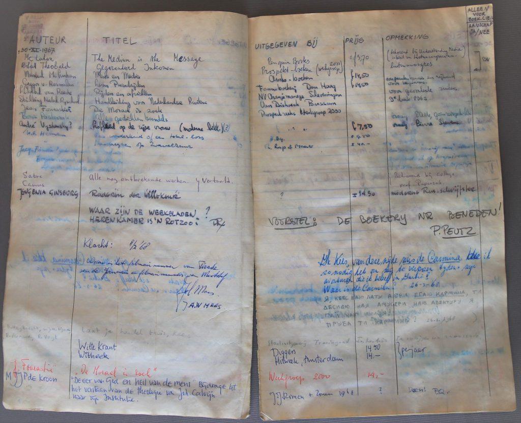 Voorstellenboek Barbaraboekerij (Archief 881, inv.nr 102)