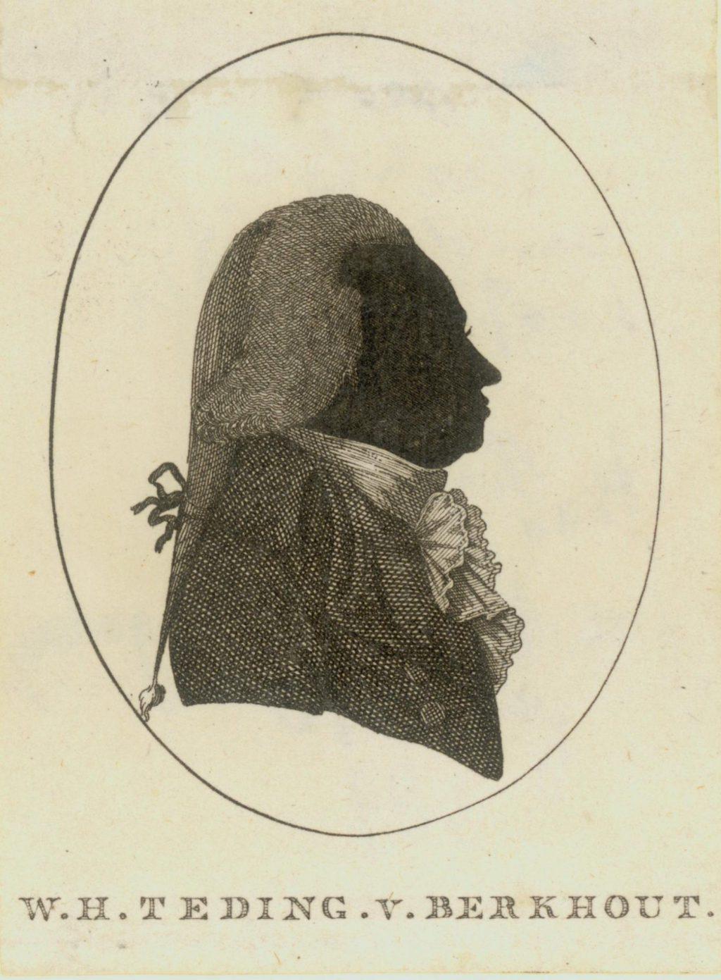 Silhouet van W.H. Teding van Berkhout, ca. 1809 (TMS 70250)