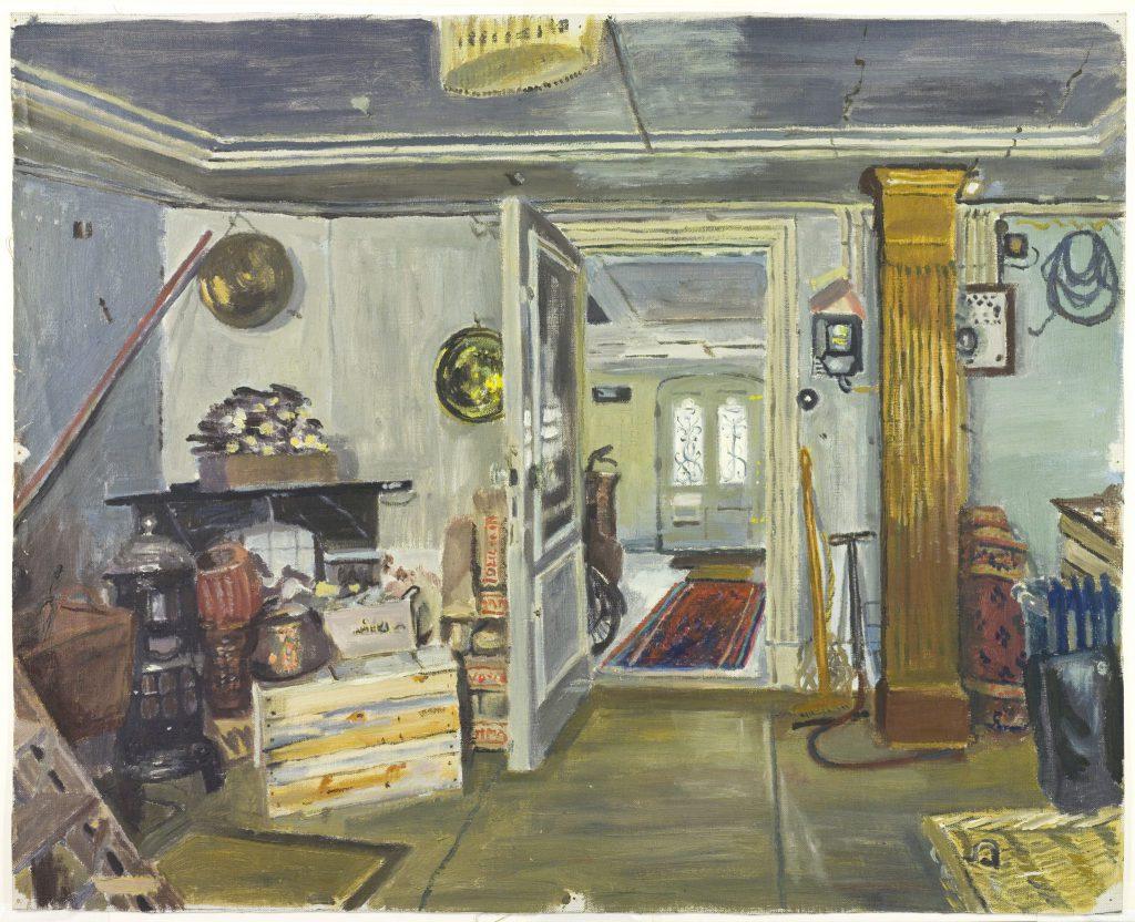 Arthur Tutein Nolthenius, Interieur van Nieuwe Plantage 48, ca. 1950 (TMS 64705)