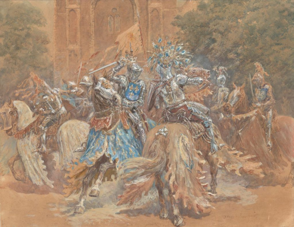Jan Hoynck van Papendrecht, Steekspel op de Markt, 1908 (TMS 107974)