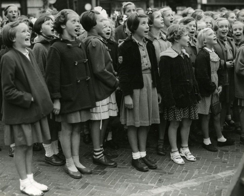 Volkszangdag, circa 1965, foto Tiemen van der Reijken (TMS 102414)