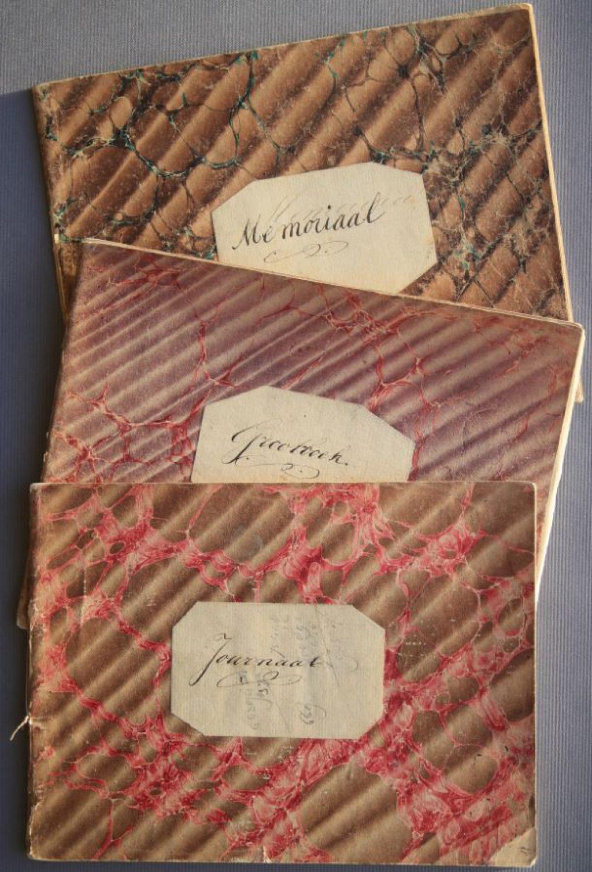 Grootboek, journaal en memoriaal van Jacobus Heesterman, 1876-1880. (Archief 598, inv.nr 1378)