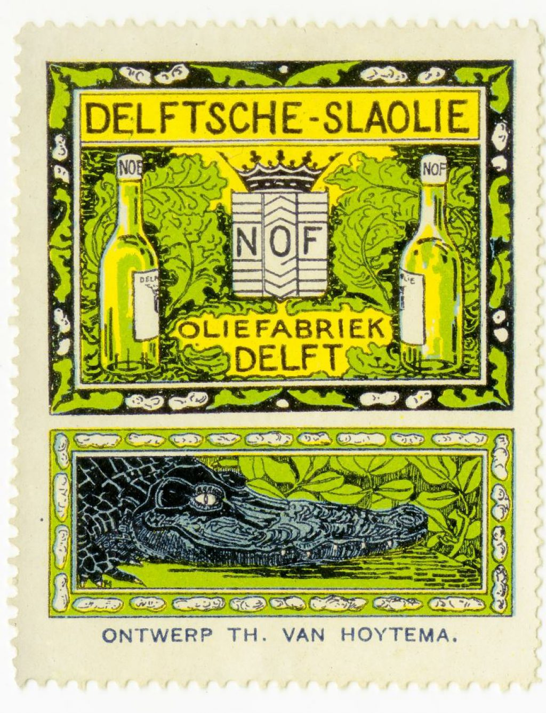 Sluitzegel, ontwerp van Theo Hoytema, 1914 (TMS 220652)