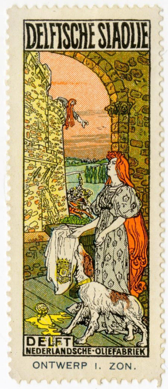 Sluitzegel, ontwerp van Jacques Zon, 1914 (TMS 220654)
