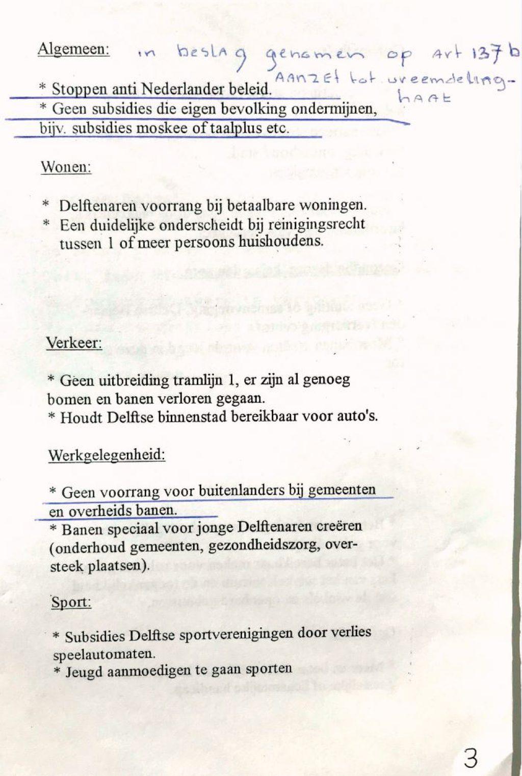 Documentatieverzameling nr. 303, partijprogramma Centrumdemocraten 1994, de originele versie (Bibliotheek)