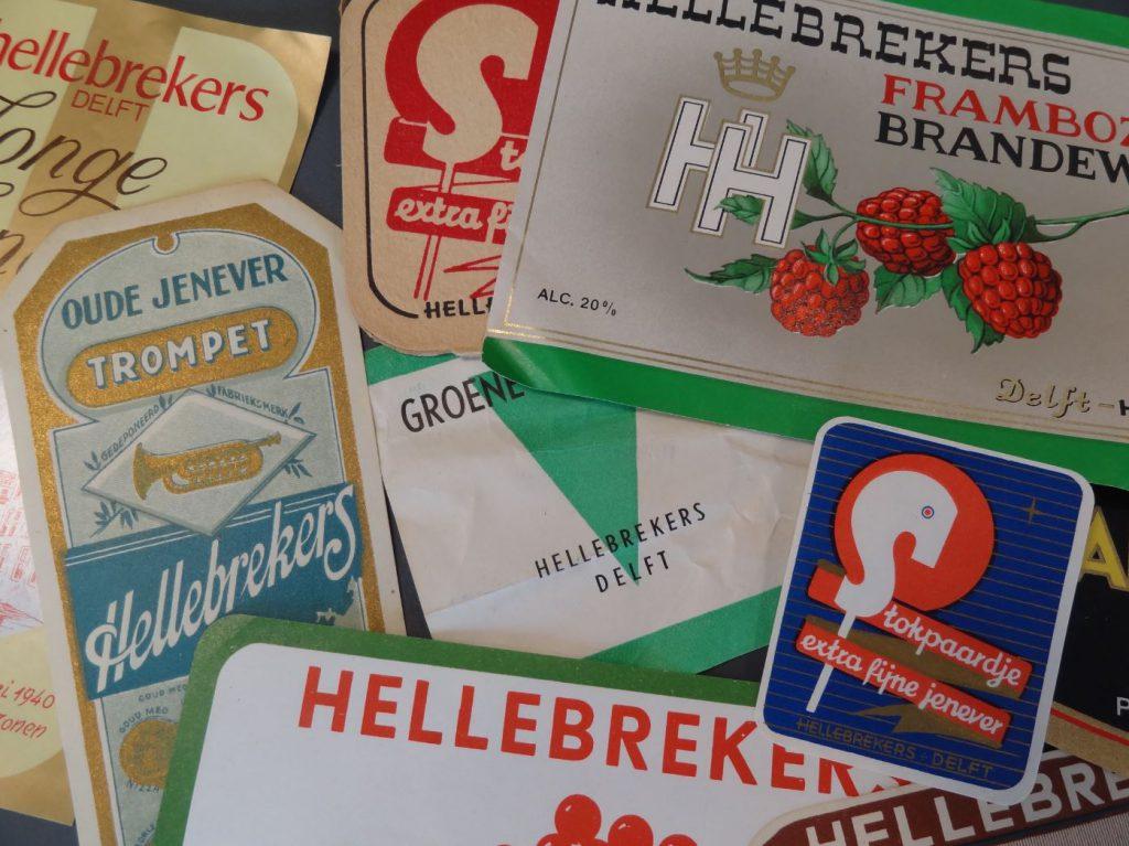 Reclamedrukwerk van firma H. Hellebrekers & Zonen. (Archief 183, inv.nr 35)