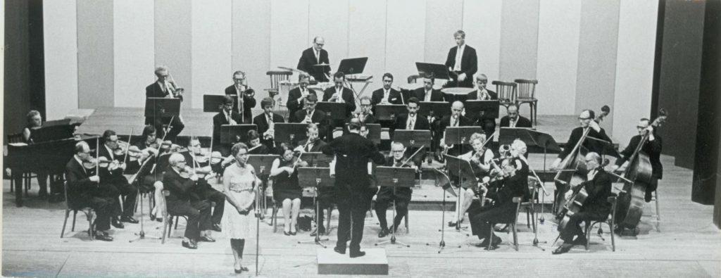 NKF Promenade Orkest, 1969, foto Tiemen van der Reijken. (TMS 88371)